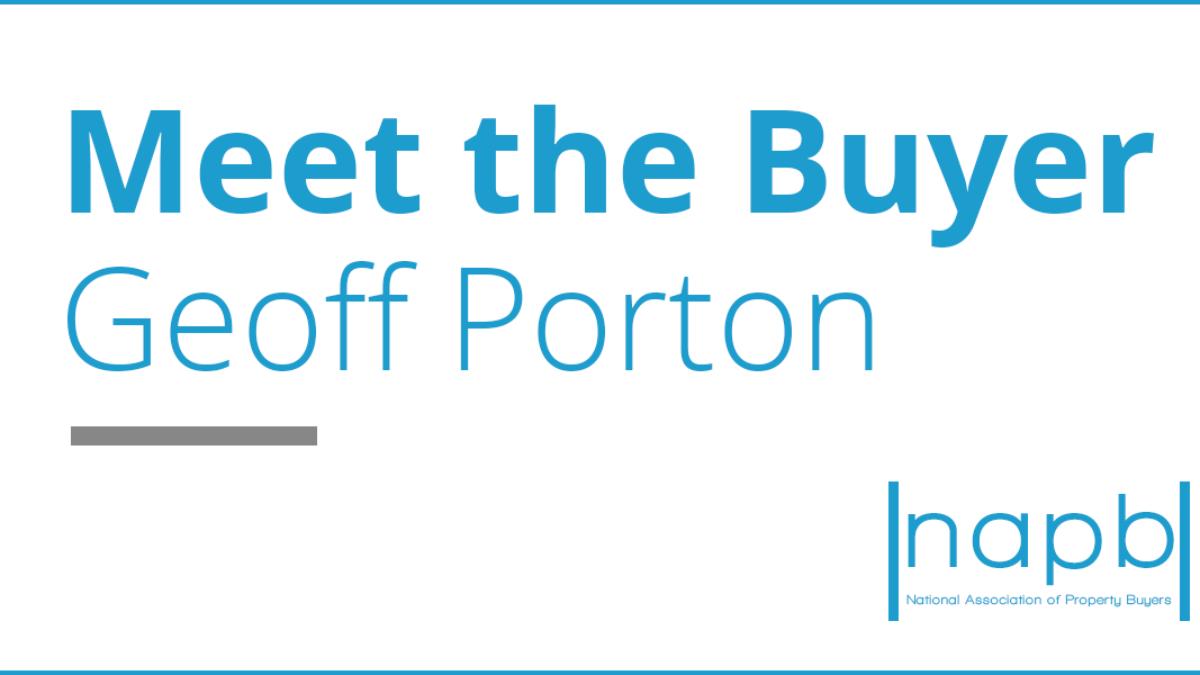 Meet the buyer Geoff Porton